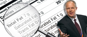 Rush Limbaugh, The Rush Limbaugh Show - Like Junk Science on the Climate, Saturated-Fat Fearmongering Has Been Exposed as Baseless